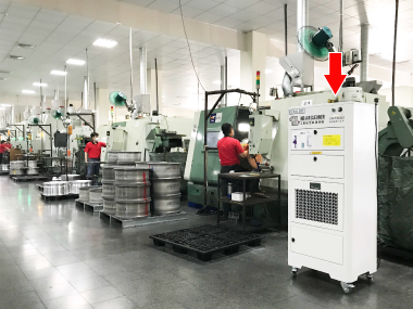 INDUSTRIAL AIR CLEANER-Coolbit iac-7014│Air Purifier