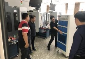 向老師致敬,捐贈台中高工機械科實習工場 IAC-7014 工業用空氣清淨機