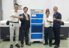 COOLBIT donated Industrial Air Cleaner for Mechanical Factory of Department of Mechanical Engineering of Yuan Ze University