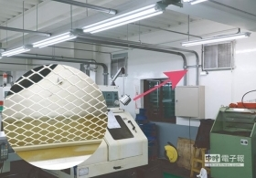 庫林吊頂式空氣清淨機 改善工廠空氣
