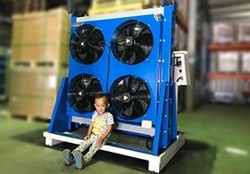 庫林工業│無水-冷卻方案 油壓機良伴