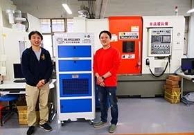 北科附工CNC教室 COOLBIT 工業級空氣清淨機 使用案例