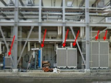 分離式風力冷卻系統