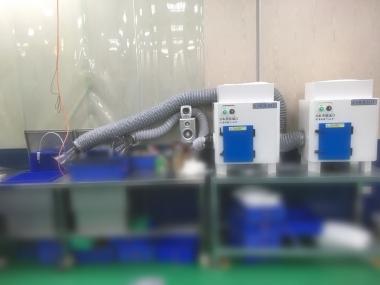 去漬油、揮發性氣體過濾淨化