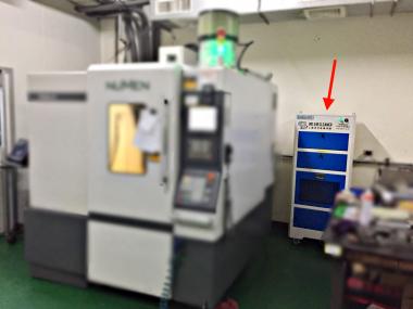 門型加工中心機-有效降低油霧