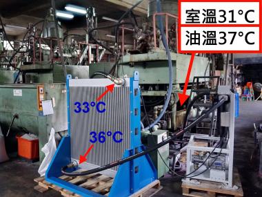 大型中空成型機的液壓系統冷卻