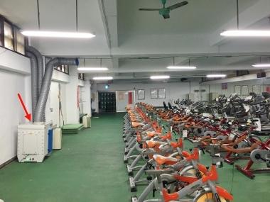 板橋高中 健身中心 空氣淨化