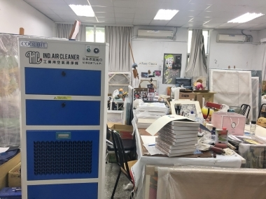 高雄師範大學 美術系  所有教室全面安裝