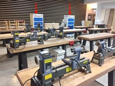 健行科大 木工教室 空氣淨化