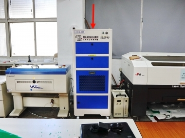 台中高工 雷射雕刻機教室 空氣淨化