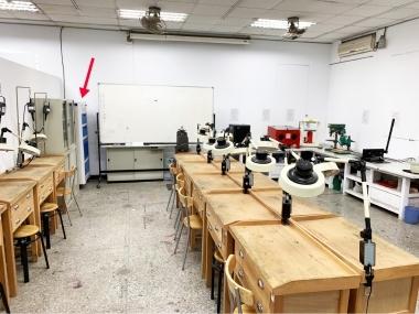 高雄師範大學-金工教室,有效去除環境氣味及異味