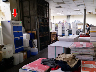印刷廠 空氣淨化使用案例