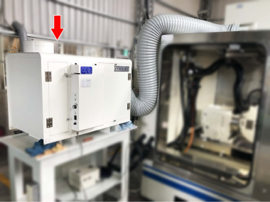 外徑螺紋磨床-AKA-220靜電處理機使用案例