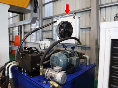 龍門磨床冷卻案例-OCS主動恆溫油冷卻機