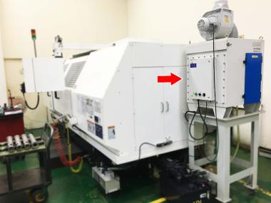 COC-S-2045平面磨床 油霧回收機使用案例