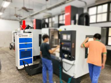 霧峰農工 CNC教室 淨化空氣