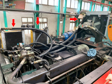 春源鋼鐵增加OCS 獨立循環油冷卻機 提高裁切準度