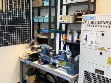 樹脂手作藝術工作室 除臭清淨機