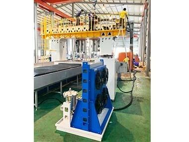 龍門磨床OCS-15T搭配10噸冷凍機,取代原20噸冷凍機,節能降成本