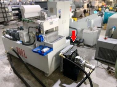 槍鑽深孔加工使用風冷式主動恆溫油冷卻機 客戶案例