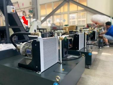 潤滑油散熱,主動恆溫油冷卻機 客戶使用案例