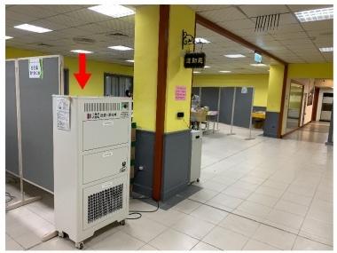 BAC-2021 商辦型空氣淨化機,淨化闈場室內環境