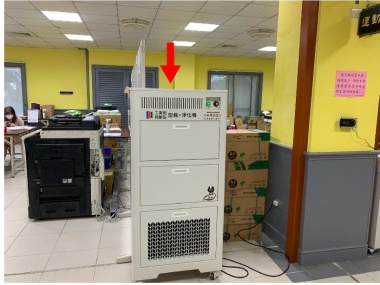 COOLBIT BAC-2021 商辦型空氣淨化機進駐彰化闈場,降低飛沫濃度,安心加倍