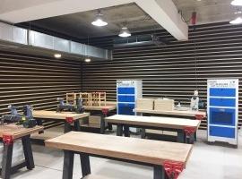 健行科技大學 木工教室