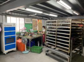 網版印刷室裡的空氣淨化,去除異味及粉塵