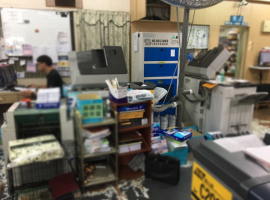 影印店裡的空氣淨化