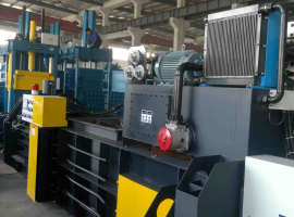 Large hydraulic press air cooling