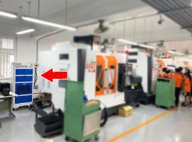 擺設於CNC教室 過濾淨化空氣