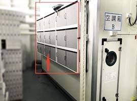 空調箱 HEPA高效濾網 再加裝 NF鎳金屬油霧過濾器-以延長HEPA壽命