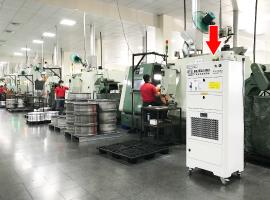 BC柏釧企業-鋁圈製造廠 淨化空氣改善工作環境案例