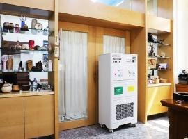 配合辦公室室內規劃,體積適當、不影響高效過濾