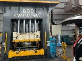 長亨油壓合模機 使用OCS 油壓冷卻案例