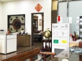 高含量活性碳大型空氣淨化機,淨化商辦公室內異味