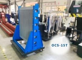 逢吉 潤滑油散熱使用OCS-15T 主動恆溫油冷卻機 案例